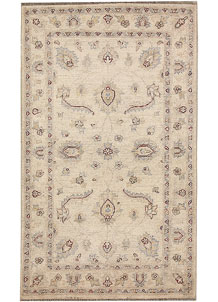 Blanched Almond Oushak 2' 11 x 4' 11 - No. 64822