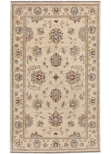 Blanched Almond Oushak 2' 11 x 4' 11 - No. 64831