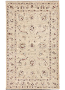 Blanched Almond Oushak 2' 11 x 4' 10 - No. 64849