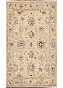 Blanched Almond Oushak 2' 10 x 4' 10 - No. 64854