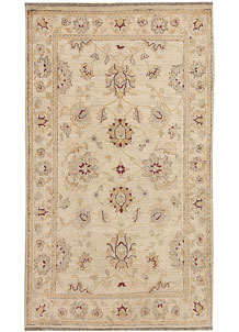 Blanched Almond Oushak 2' 11 x 4' 11 - No. 64855