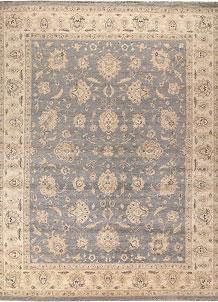 Light Slate Grey Ziegler 9' x 11' 10 - No. 64917
