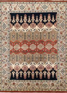 Multi Colored Ziegler 8' 11 x 11' 11 - No. 64930