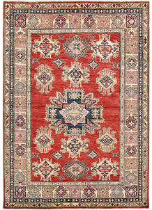 Red Kazak 4' 10 x 7' 1 - No. 64940