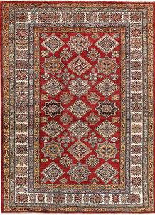 Firebrick Kazak 4' 9 x 6' 7 - No. 64941
