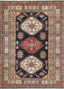 Dark Blue Kazak 4' 11 x 6' 6 - No. 64942