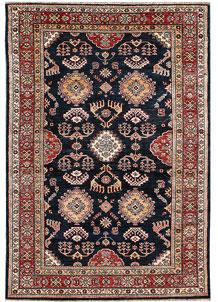Dark Blue Kazak 4' 10 x 7' - No. 64943