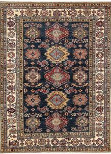 Dark Blue Kazak 5' x 6' 8 - No. 64945
