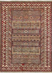 Multi Colored Kazak 4' 8 x 6' - No. 64951
