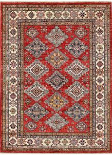 Firebrick Kazak 4' 11 x 6' 8 - No. 64953