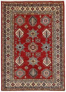 Dark Red Kazak 4' 11 x 6' 10 - No. 64954
