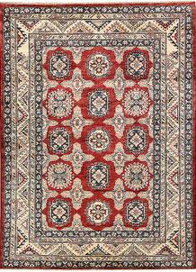 Firebrick Kazak 4' 9 x 6' 5 - No. 64959
