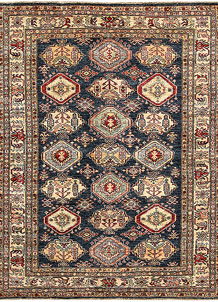 Dark Blue Kazak 4' 8 x 6' 3 - No. 64960