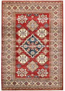Firebrick Kazak 4' 11 x 7' 1 - No. 64963