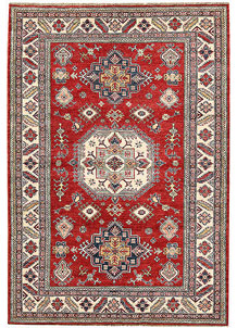 Firebrick Kazak 5' 1 x 7' 3 - No. 64965