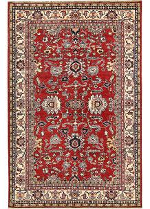 Firebrick Kazak 5' 5 x 8' 3 - No. 64971