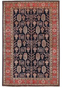 Dark Blue Kazak 5' 5 x 8' 1 - No. 64974