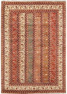 Multi Colored Kazak 5' 5 x 7' 9 - No. 64975