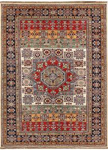 Multi Colored Kazak 5' 4 x 7' 2 - No. 64978