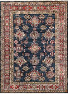 Dark Blue Kazak 5' 7 x 7' 7 - No. 64982