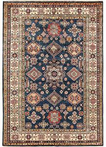 Dark Blue Kazak 5' 6 x 7' 9 - No. 64984