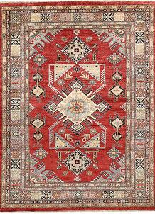 Firebrick Kazak 5' 10 x 7' 9 - No. 64989