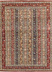 Multi Colored Kazak 5' 6 x 7' 6 - No. 64991
