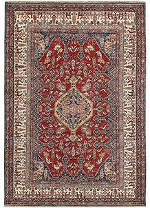 Firebrick Kazak 5' 6 x 8' - No. 64995