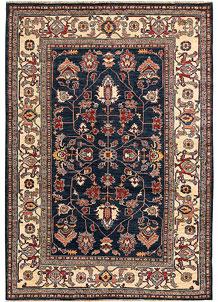 Dark Blue Kazak 5' 10 x 8' 6 - No. 65003