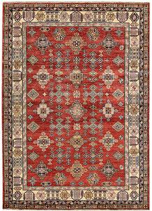 Firebrick Kazak 5' 10 x 8' 3 - No. 65005