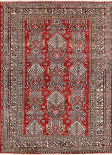 Firebrick Kazak 5' 9 x 7' 8 - No. 65008