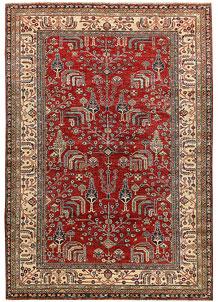 Firebrick Kazak 6' 3 x 8' 11 - No. 65024