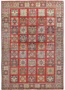 Multi Colored Kazak 6' 9 x 9' 9 - No. 65025