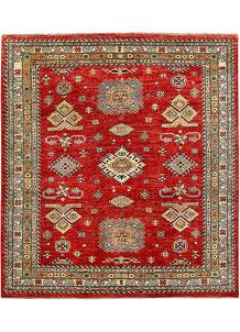 Firebrick Kazak 5' 8 x 6' 4 - No. 65030