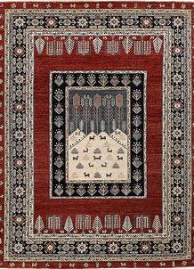 Brown Oushak 9' x 11' 11 - No. 65040