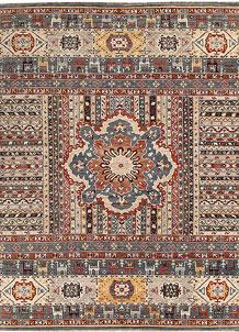 Multi Colored Oushak 8' 9 x 11' 8 - No. 65047