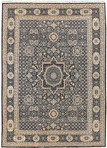 Dim Grey Mamluk 10' x 13' 3 - No. 65073