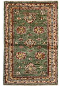 Olivedrab Kazak 2' 11 x 4' 9 - No. 65233