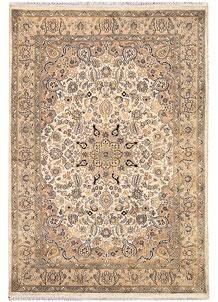 Ivory Isfahan 4' 1 x 5' 11 - No. 65249