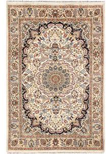 Ivory Isfahan 4' 1 x 6' 2 - No. 65250