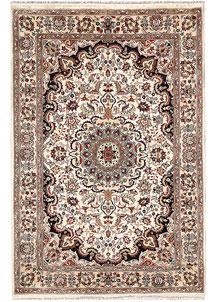 Ivory Isfahan 4' x 6' - No. 65251