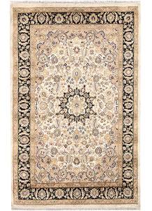 Ivory Isfahan 4' x 6' 3 - No. 65254