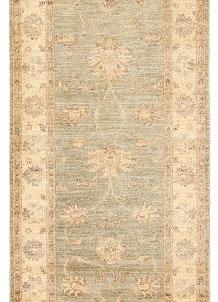 Antique White Oushak 2' 9 x 8' 8 - No. 65414