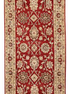 Firebrick Oushak 2' 7 x 8' 6 - No. 65459