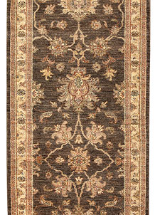 Saddle Brown Oushak 2' 9 x 7' 9 - No. 65530