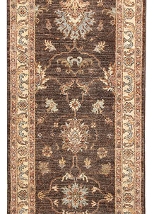 Saddle Brown Oushak 2' 7 x 8' 7 - No. 65532