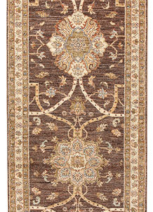 Saddle Brown Oushak 2' 8 x 7' 10 - No. 65534