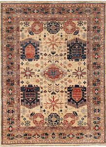 Navajo White Oushak 4' 11 x 6' 7 - No. 65558