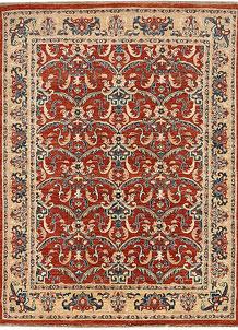 Orange Red Ziegler 4' 6 x 6' - No. 65567