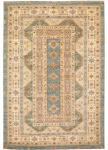 Multi Colored Oushak 5' 5 x 8' - No. 65576